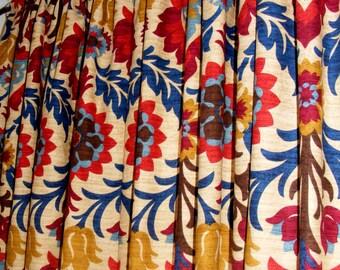 Southwestern Curtain Panels Modern Drapery Window Treament Pair Lined