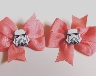 Star Wars baby bow hair clip