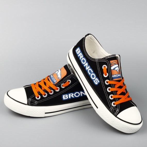 denver broncos sneakers broncos tennis shoes by shoesetem