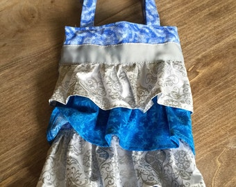 Frilly Snowflake Bag