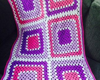 Hand made baby blankets