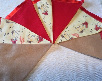 Paddington Bear Bunting