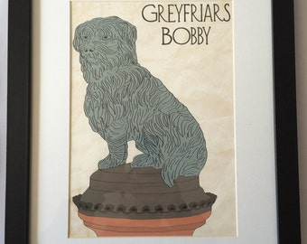 Greyfriars Bobby Framed Print
