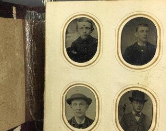 Tin Type Photo Album