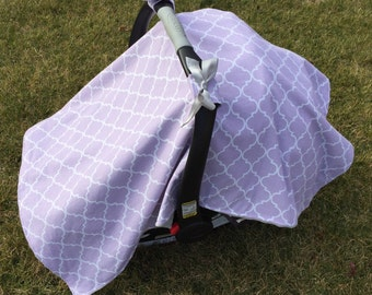 Car Seat Canopy, Infant Car Seat Cover - Made to Order
