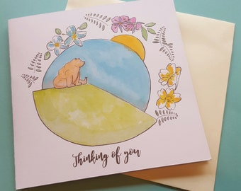 Bear 'Thinking of you' Card