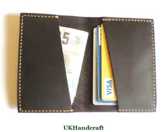 Rugged Leather Card Holder, Minimalist Leather Card Wallet, Leather Card Wallet, Mens Leather Wallet, Slim Card Wallet, Slim Card Holder