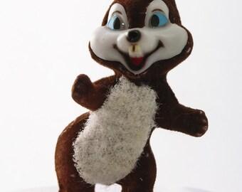 Spunky Christmas Chipmunk