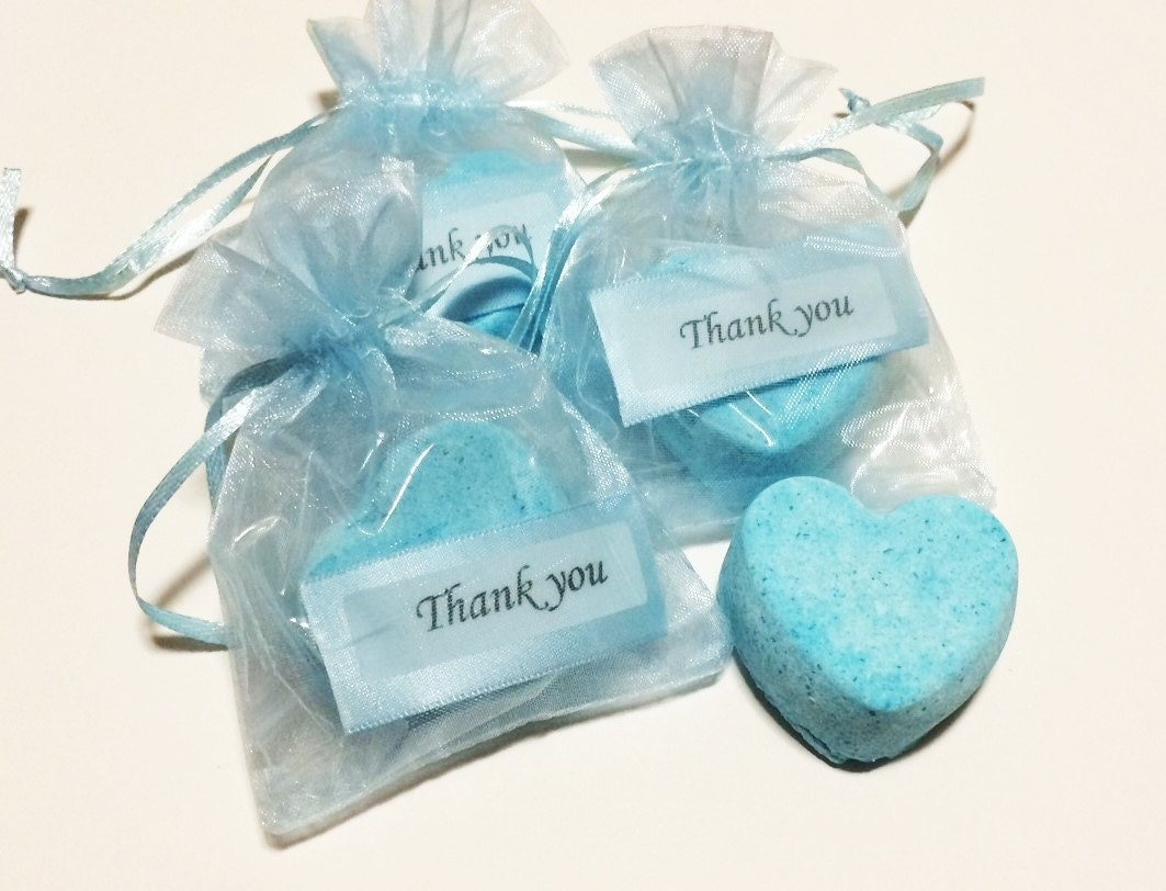 Heart Bath Bomb Party Favors Aromatherapy Essential Oil
