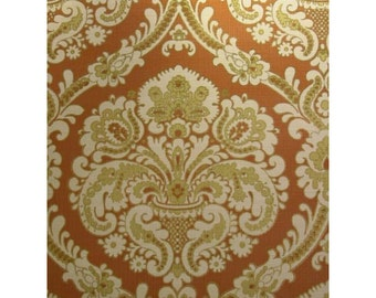 Vintage Wallpaper Etsy - Green and brown wallpaper