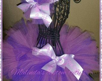 Purple puffy princess sizes 0-12mo