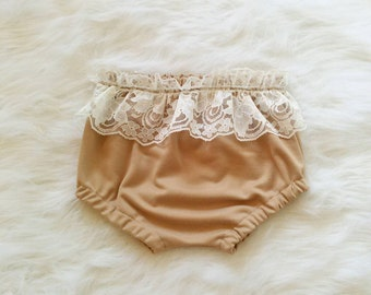 Chestnut Lace Bloomers