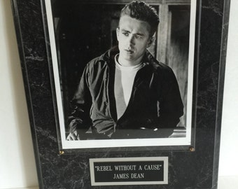 Rare James Dean Rebel Without A Cause Plaque