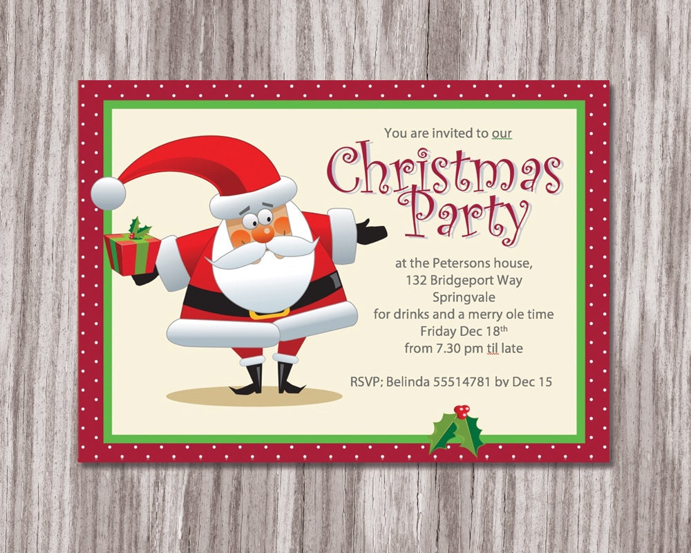 xmas party invite able christmas invitation christmas party invitation christmas invite printable christmas invitation diy christmas card