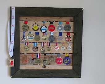Medal Hanger from Recycled Pallet Wood