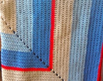 Square pram blanket