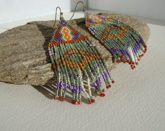 chic boho earrings