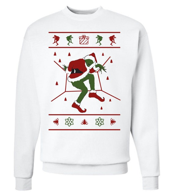 Hot Line Bling Grinch Ugly Christmas Sweater