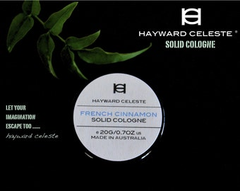 Hayward Celeste French Cinnamon Solid Cologne