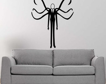 Slender Man vinyl wall decal