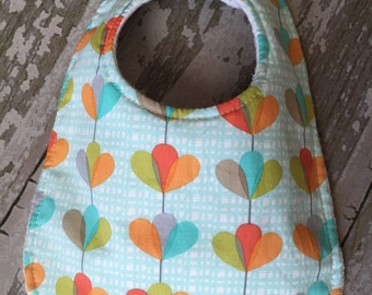 Baby bibs/Abstract flowers