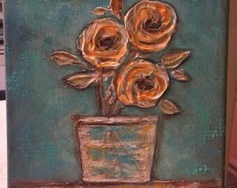 Orange Roses Order # 100
