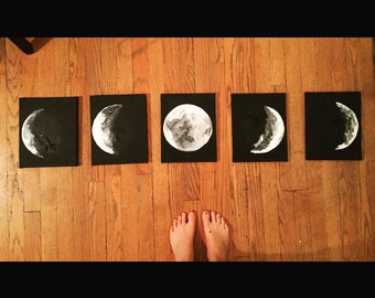 5-piece Moon Phase Set