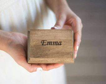 Will you be my bridesmaid Gift Box Maid Of Honor Proposal Box Keepsake Sister of the Bride Bridesmaids Gift  box Wooden box Set of