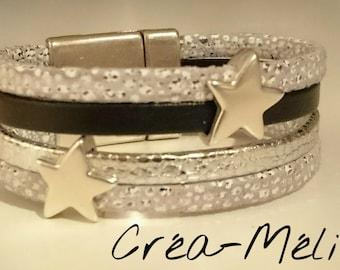 cufflinks silver/black