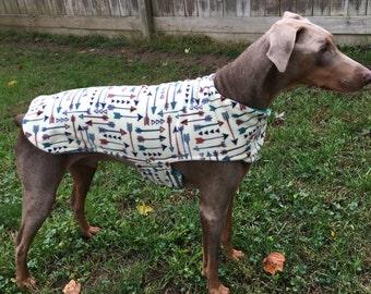 Fleece Big Dog Jacket - Small Arrows