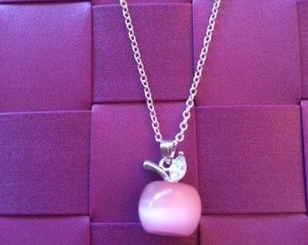 Necklace Apple Blanche Neige - Snow White - Once upon a time