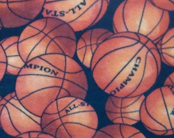 Basket Ball Tie knot blanket