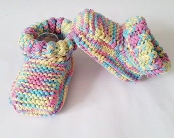 READY TO SHIP! Baby booties, knitted baby booties, baby gift, baby shower, knitted booties, baby shoes, newborn gift, newborn shoes, baby