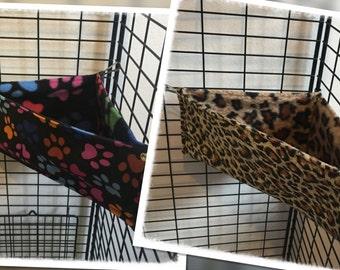 Corner Bed Animal Print Hammocks for Rats Ferrets Chinchilla Gerbil Degu