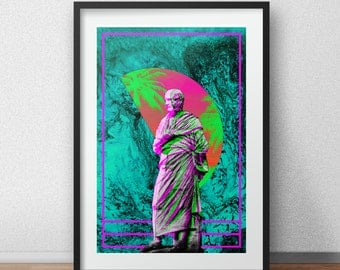 Vaporwave Aesthetic Print #10 (See item description)
