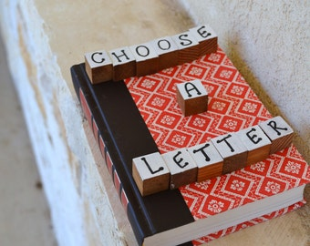 Readers Digest Book Letter-Red Pattern
