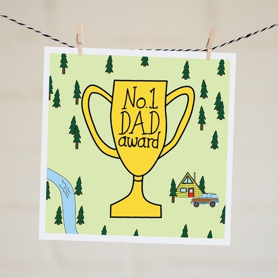 fathers day trophy card no 1 trophy card s day card number 1 4450