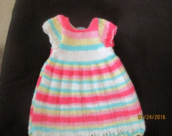 Knitted Baby Dress-Free Shipping