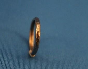 Hammer Texture Ring