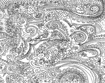 Zen-Art, Anti-stress, Drawing for Relax, Drawing for Fun, Anti-stress page