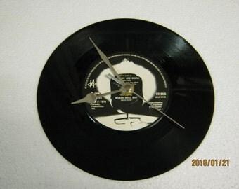 "M - ""Moonlight And Muzak"" Vinyl Record Wall Clock"