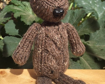 Knitted Teddy Bear - Myrtle