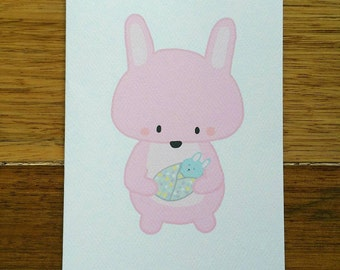 New Mum Card (baby boy or girl option)