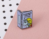Unicorns and Me Enamel Pin with clutch back // lapel pins, simpsons, lisa simpson // EP052
