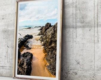 Beach Photography Print - Wategos Beach I- Photographic Art, Beach Art Print,  Photographic Print, Beach Art Print, Photo Print