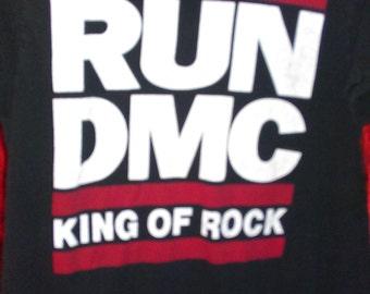 RUN DMC King of Rock 1992 Aces & Eights Tag, True Vintage, Rare
