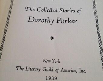 Dorothy Parker - 1930s book - vintage stories -
