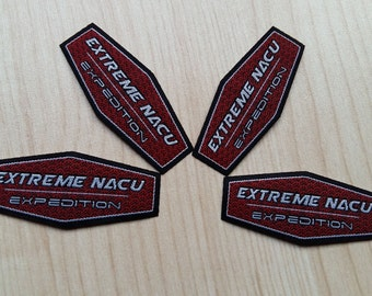 200pcs,Customized label,iron label, The shape of a multilateral woven label, iron woven label,woven badge patches,