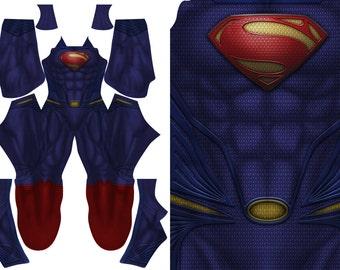 SUPERMAN - MAN of STEEL pattern file