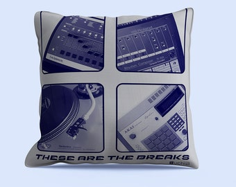 These Are The Breaks Indoor Throw Pillow